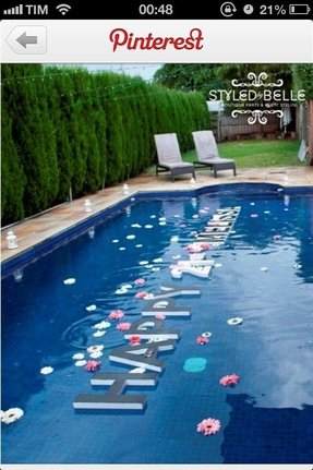 Styrofoam pool floats 1