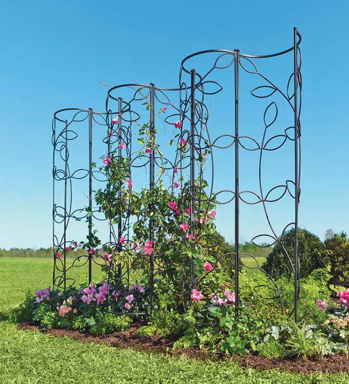 Exceptionnel Tall Garden Obelisk
