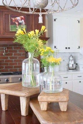 Clear Floor Vase Foter