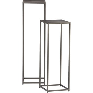 Tall pedestal plant stand 1