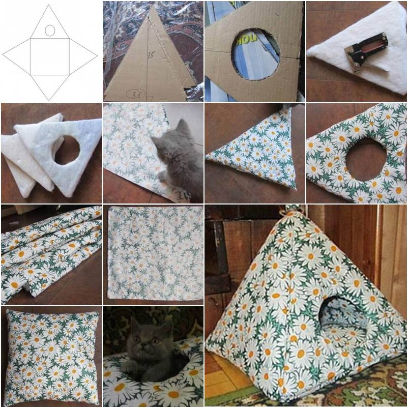 Monica And. 3. A comfortable cat tent ... & Pet Tent Bed - Foter