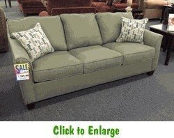 Teluride Mist Sleeper Sofa By Simmons At Furniture Warehouse The