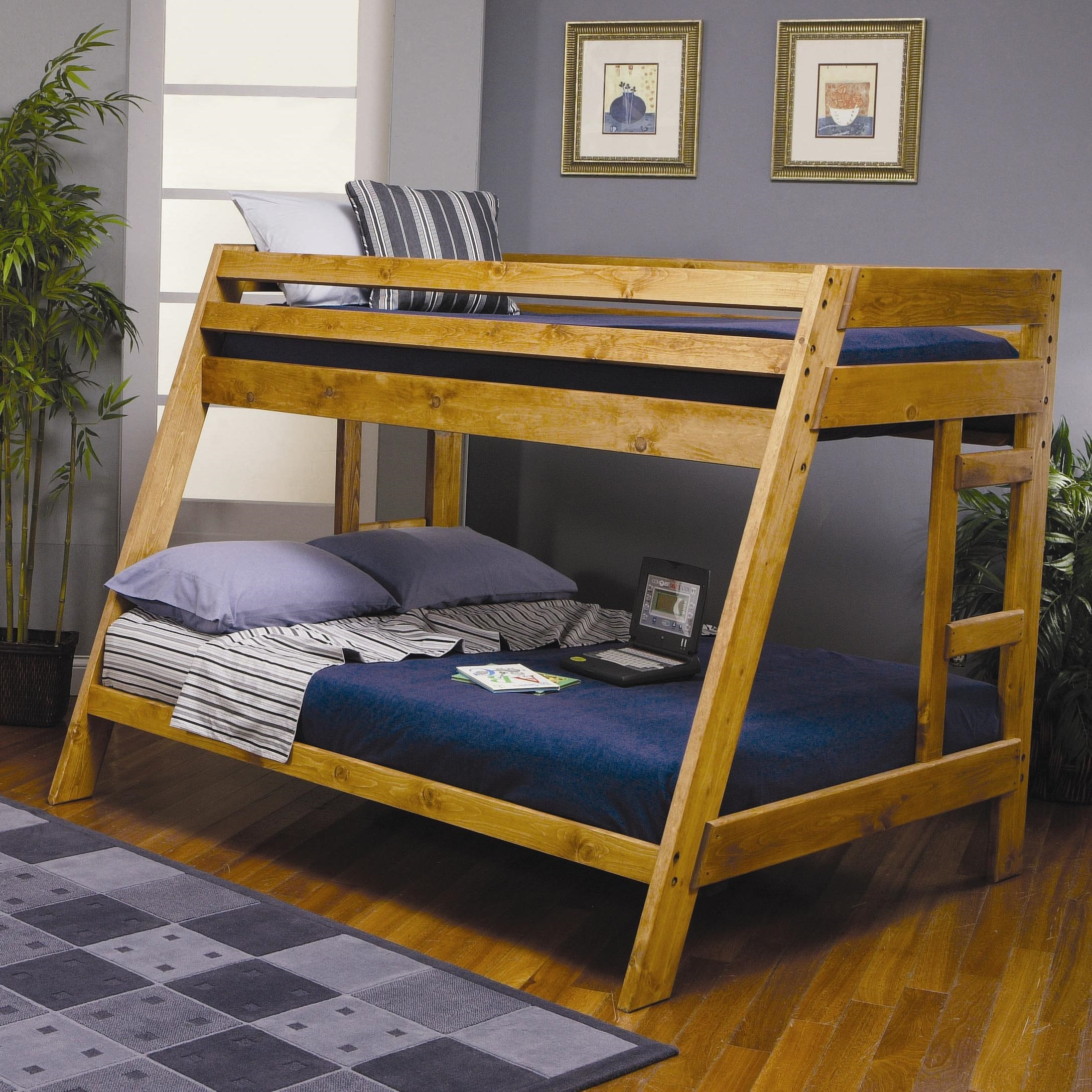 Twin Over Full Bunk Bed With Staircase Foter