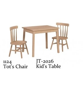 Unfinished kids table 7