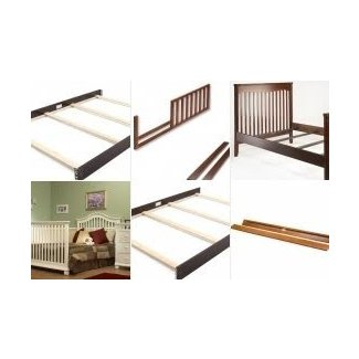 Universal crib conversion rails