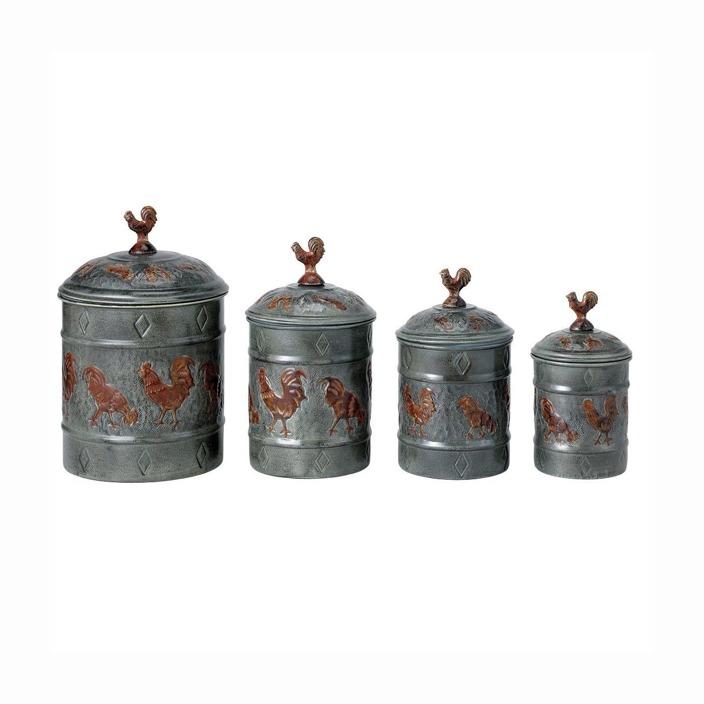 Country Canister Sets For Kitchen   Ideas On Foter