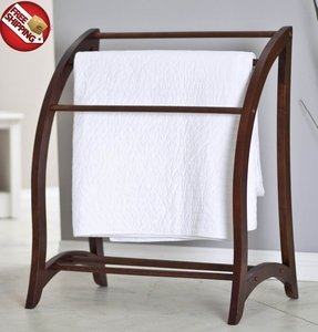 Wooden towel stand 12
