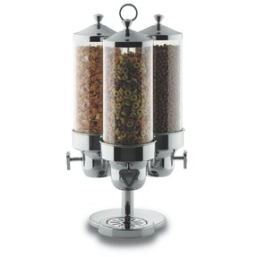 Glass cereal dispenser foter triple cereal dispenser ccuart Images
