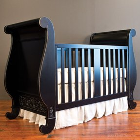 Black Sleigh Crib Ideas On Foter
