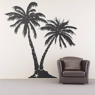 Beach saying wall decals