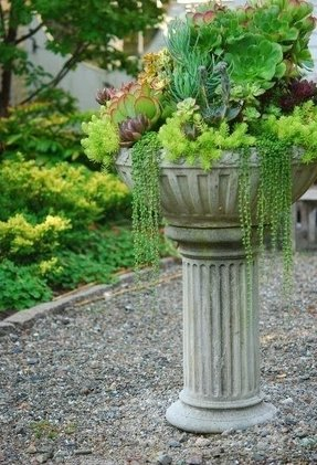 Bird bath pedestal 1