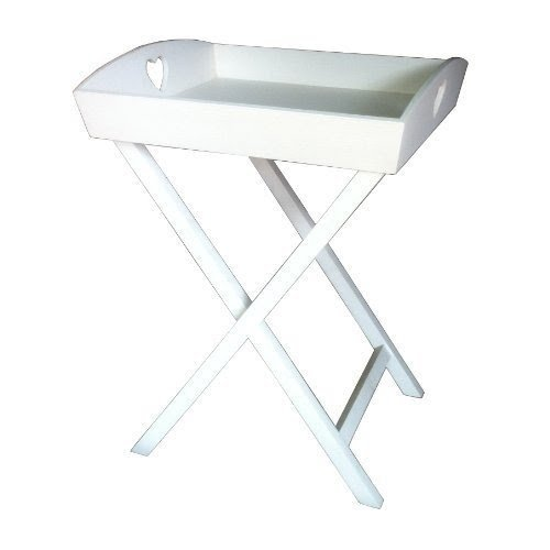 Folding Butlers Tray Table Foter