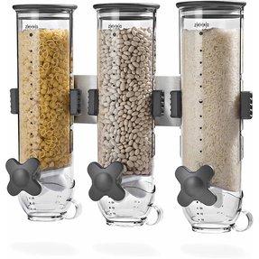 Glass cereal dispenser foter cereal dispenser ccuart Images
