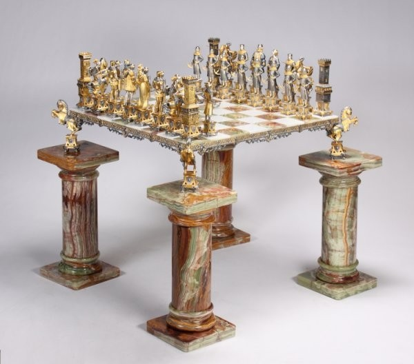 Attirant Chess Board Tables Furniture