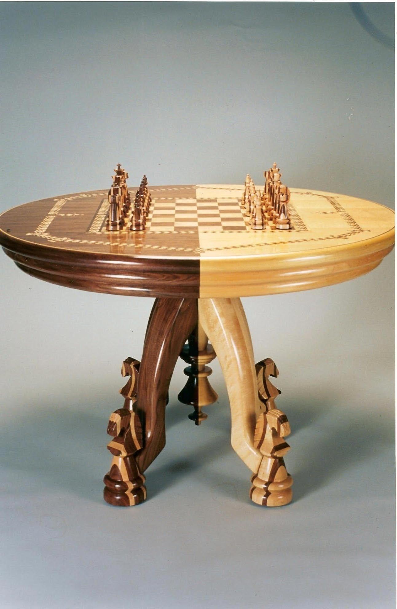 Incroyable Chess Furniture