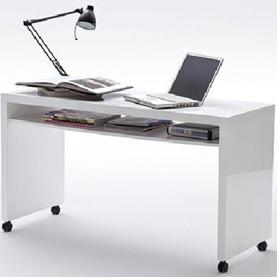 White computer desk Small Space Computer Desk With Wheels Neweggcom Computer Desks With Wheels Ideas On Foter