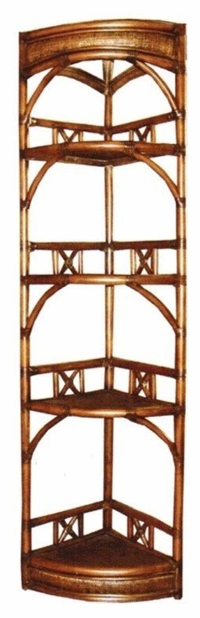 Corner etagere shelves 6