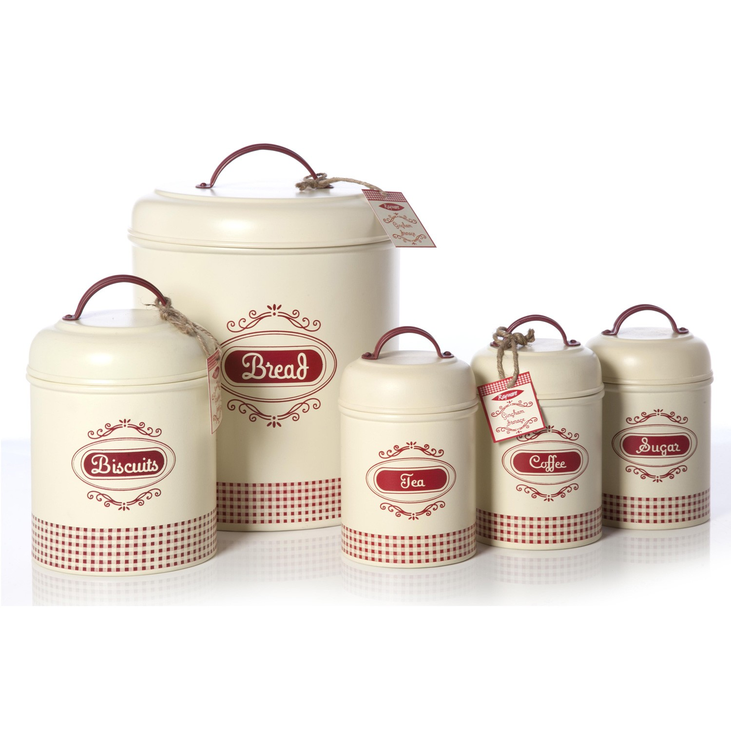 Delicieux Country Kitchen Canisters