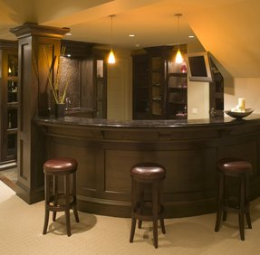 Curved Home Bar Ideas On Foter