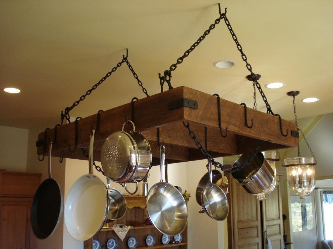 Custom Built Pot Pan Storage Racks From