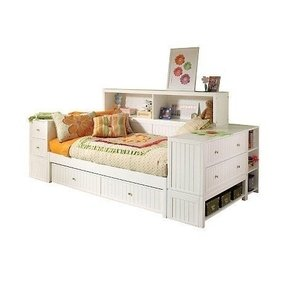storage full daybed size awesome and captain bookcase with phoenix drawers bookcases daybeds