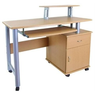 Desk with wheels