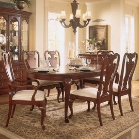 Formal Cherry Dining Room Sets Ideas