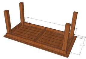 Diy Cedar Patio Table Plans 2