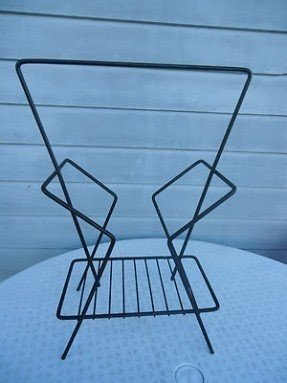 Black Metal Magazine Rack Ideas On Foter
