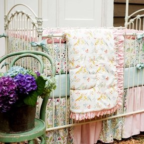 Girl nursery bedding collections 10