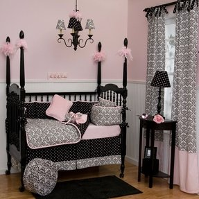 Girl nursery bedding collections 2