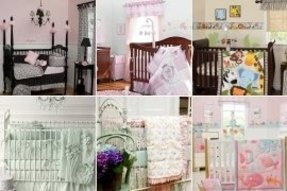 Girl nursery bedding collections