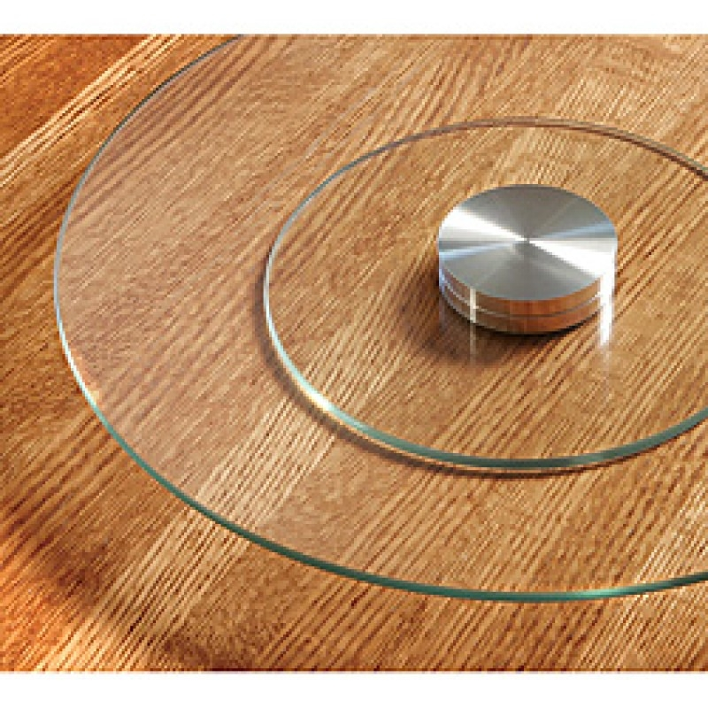 Merveilleux Glass Lazy Susan For Table