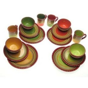 Hot tamale dinnerware 1