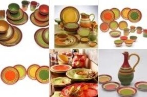 Hot tamale dinnerware