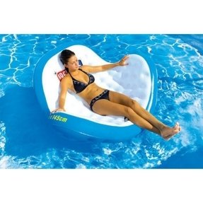 Inflatable pool couch