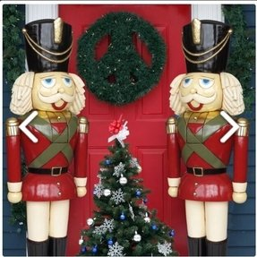 large nutcracker christmas decoration