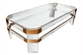 Unique Glass Coffee Tables Foter