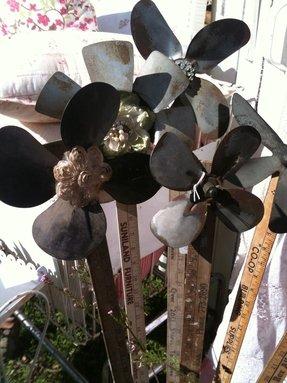 Garden Pinwheels Metal Foter