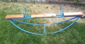 Metal teeter totter 1