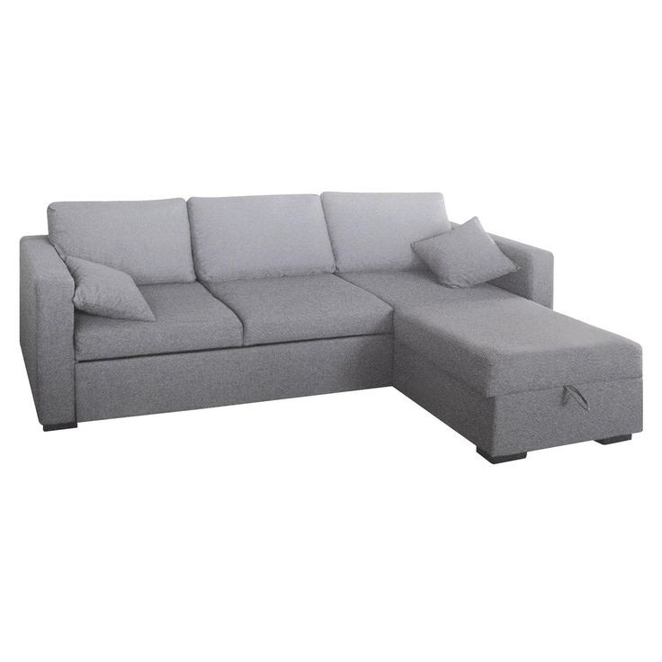 New spec inc sofabed sectional with storage