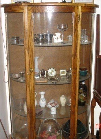 Etonnant Oak Curio Cabinet 8