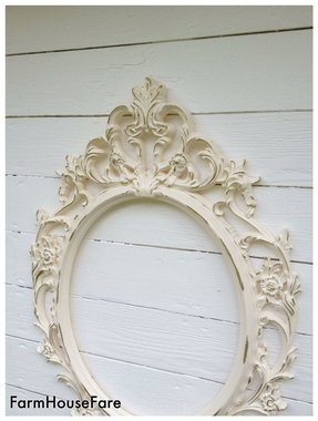 Antique White Oval Mirror Ideas On Foter