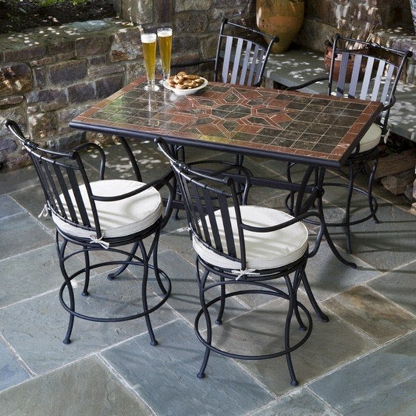 Good Outdoor Counter Height Patio Dining Set Simply Beautiful