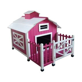 Pink dog house 2