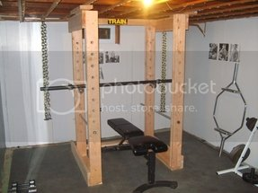 Power rack and bench 2