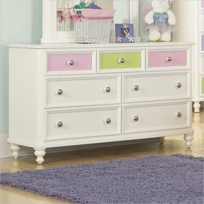 Pulaski build a bear pawsitively yours kids double dresser in