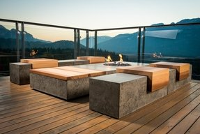 Concrete Patio Benches Foter