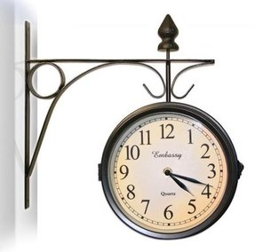 Decorative Outdoor Clock And Thermometer Set Ideas On Foter