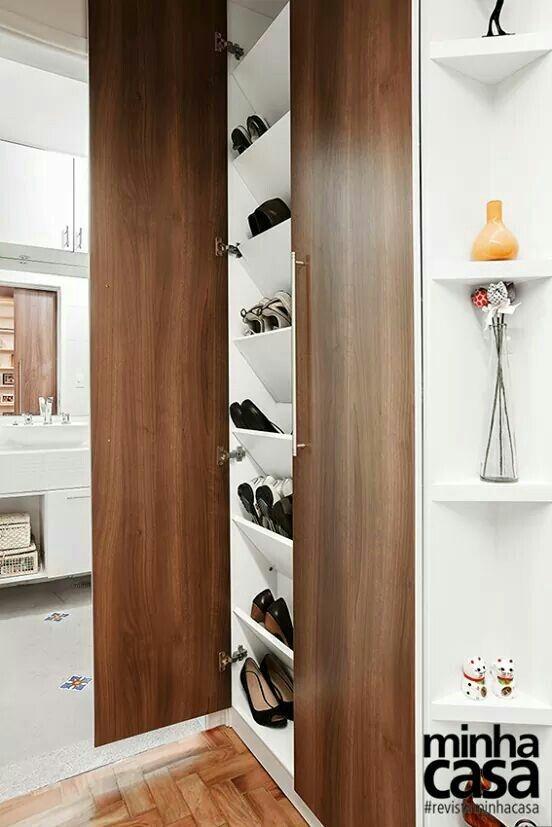 Small Shoe Closet